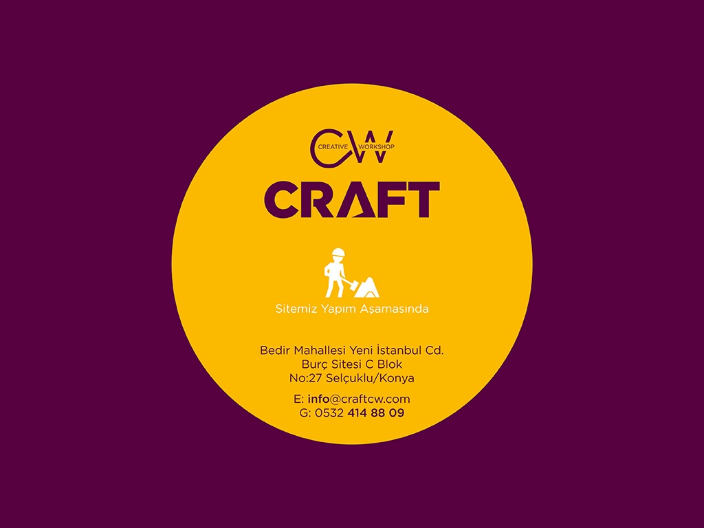 CRAFT CREATIVE WORKSHOP